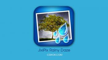 نرم افزار اضافه کردن افکت باران به عکس – JixiPix Rainy Daze v1.23