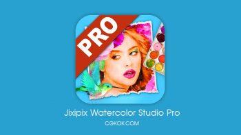 دانلود نرم افزار ساخت طرح های آبرنگی – دانلود Jixipix Watercolor Studio Pro v1.4.7