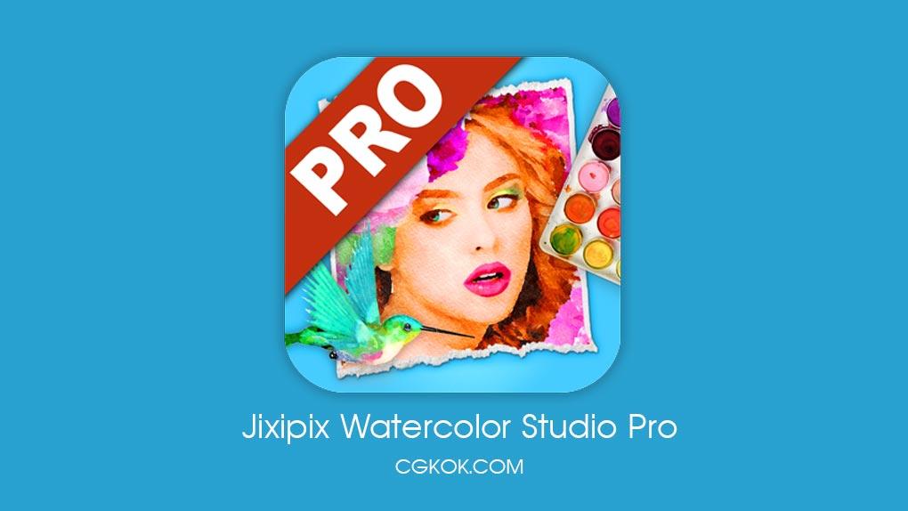 دانلود نرم افزار ساخت طرح های آبرنگی – دانلود Jixipix Watercolor Studio Pro