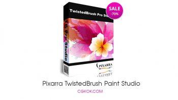 نرم افزار نقاشی با براش های متنوع – Pixarra TwistedBrush Paint Studio v3.03