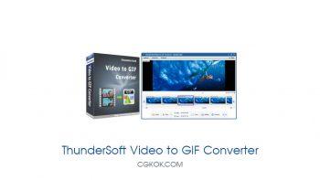 نرم افزار ساخت گیف از فایل های ویدئویی – ThunderSoft Video to GIF Converter v2.9.0.0
