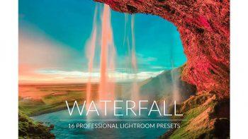 دانلود پریست آبشار برای لایت روم – Waterfall Lr Presets