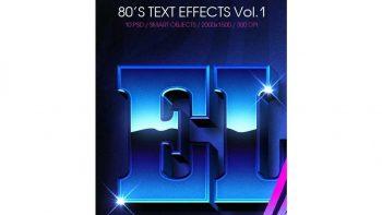 اکشن ایجاد افکت متنی قدیمی در فتوشاپ – Text Effects Vol.1