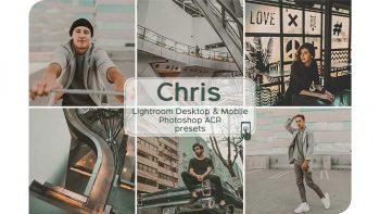 پریست رنگ لایت روم و فتوشاپ – Chris Lightroom Presets