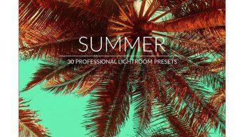 پریست تصاویر تابستانی برای لایت روم – Summer Lr Presets