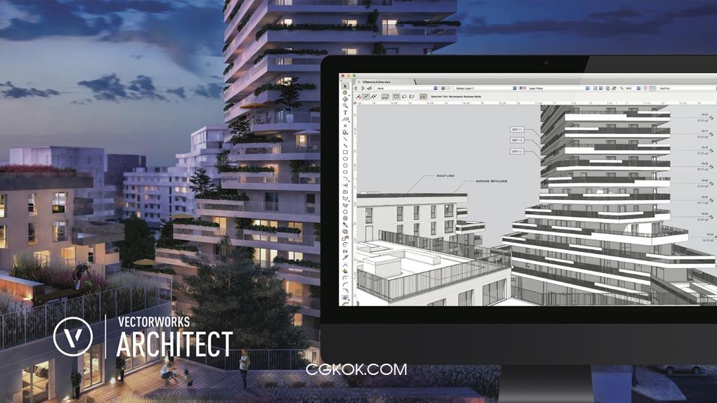 نرم افزار طراحی دکوراسیون داخلی و خارجی – دانلود Vectorworks