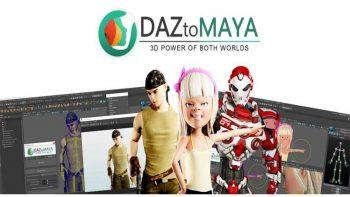 دانلود پلاگین DazToMaya برای مایا