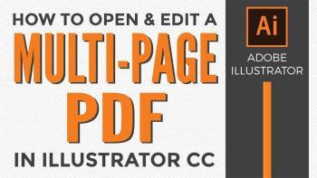 دانلود پلاگین Open Multi Page PDF v1.2 برای Illustrator