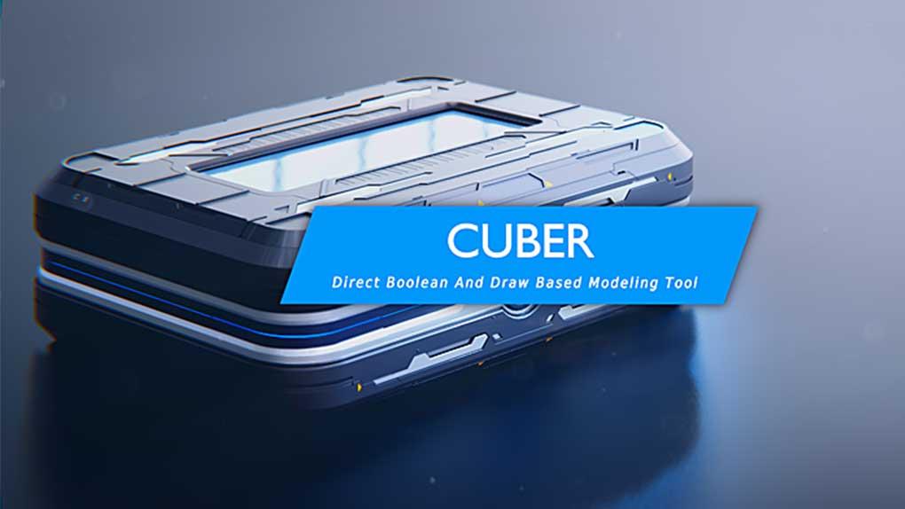 دانلود پلاگین cuber برای بلندر