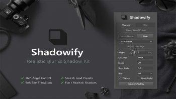 دانلود پلاگین Shadowify v1.0.0 برای فتوشاپ