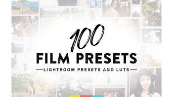 مجموعه 100 پریست فیلم لایت روم – Film Lightroom Presets And LUTs