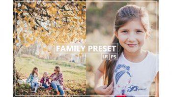 دانلود پریست لایتروم و فتوشاپ – FAMILY Lightroom, Photoshop Preset