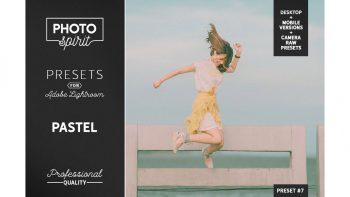 دانلود پریست فیلتر رنگی لایت روم – Pastel LR Presets Mobile + Desktop