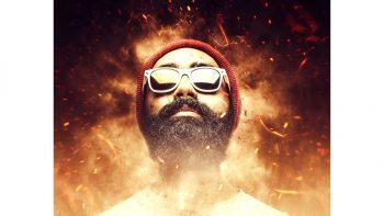 اکشن عکس هنری تولد ققنوس برای فتوشاپ – Phoenix CS4+ Photoshop Action