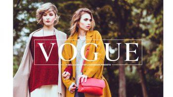 مجموعه پریست استفاده عمومی برای لایتروم – Vogue Lightroom Presets Collection