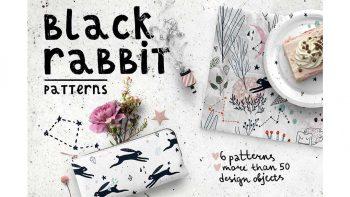 دانلود پترن خرگوش Black Rabbit | Patterns