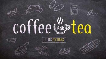 دانلود وکتور منو کافی شاپ Coffee and Tea + bonus sketches