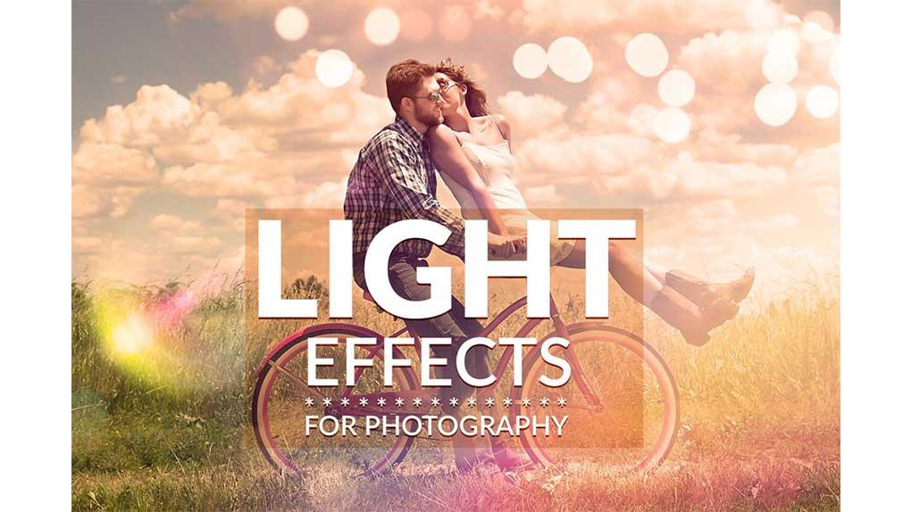 دانلود افکت نوری برای فتوشاپ Light Effects for Photography
