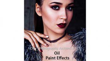 دانلود اکشن تبدیل عکس به نقاشی رنگ روغن Oily Photography Action