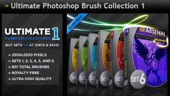 دانلود مجموعه براش فتوشاپ Ultimate Photoshop Brushes Collection