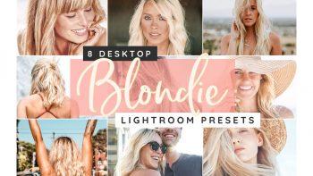 پریست عکس موی بلوند برای لایت روم – Blond Hair Lightroom Desktop Presets