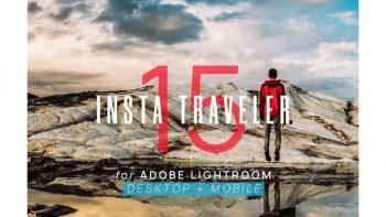 مجموعه 15 پریست لایت روم – Insta Traveler Lightroom Presets