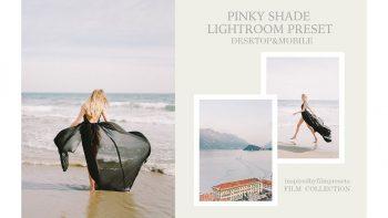 دانلود پریست تم صورتی برای لایت روم – Pinky Film Lightroom Preset
