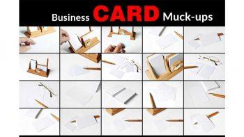 دانلود موکاپ کارت ویزیت Business Card Mockups