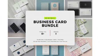 دانلود فایل لایه باز کارت ویزیت Business Card Prime Bundle