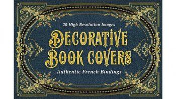 دانلود طرح جلد تزئینی کتب قدیمی Decorative Book Covers
