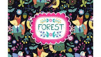 دانلود پترن جنگل Forest