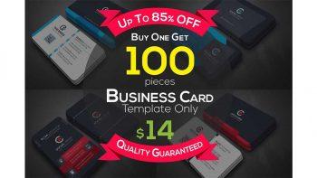 دانلود فایل لایه باز کارت ویزیت Full & Finel Business Cards Bundle