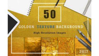 دانلود تکسچر صفحه فلزی طلایی رنگ Golden Texture Background Set1
