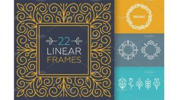 دانلود ابزار طراحی فریم Linear Frames