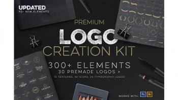 دانلود جعبه ابزار ساخت لوگو Logo Creation Kit + Bonus