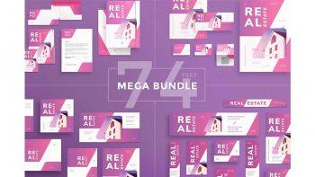 دانلود فایل لایه باز مشاور املاک Mega Bundle | Real Estate Agency