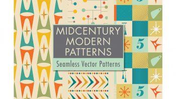 دانلود پترن مدرن Mid-Century Modern Patterns Vol 5