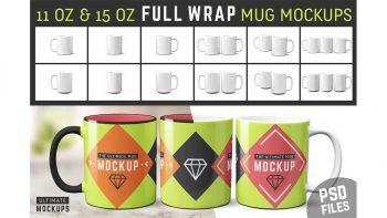 دانلود موکاپ ماگ Mug Mockup Templates