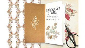 دانلود کلیپ آرت گل Renaissance Flowers