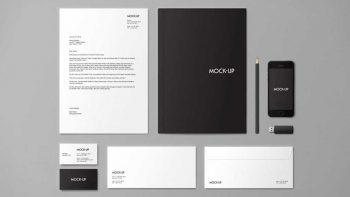 دانلود موکاپ ست اداری Stationery & Branding Mock-up
