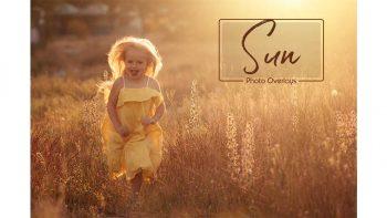 دانلود فلر نور خورشید Sunlight Photo Overlays