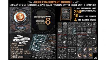 دانلود المان تخته سیاه Ultimate Chalkboard Mega Bundle