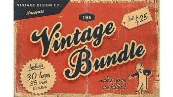 دانلود فایل لایه باز لوگو با طرح قدیمی Vintage Logos Bundle