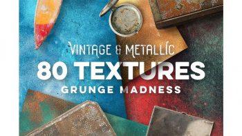 دانلود تکسچر فلز Vintage & Metallic Textures