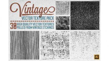 دانلود تکسچر و بافت کهنه Vintage Vector Texture Pack