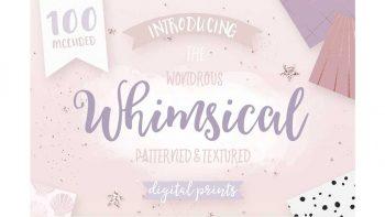 دانلود پترن هندسی Whimsical Branding Patterns