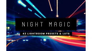 مجموعه پریست لایت روم – Night Lightroom Presets And LUTs