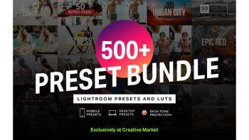 مجموعه پریست رنگی فیلم و لایت روم – Lightroom Presets & LUTs Bundle