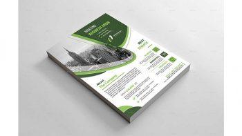 دانلود فایل لایه باز آگهی کسب و کار Business Flyer