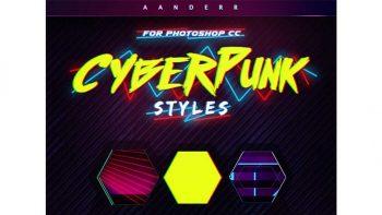 دانلود استایل سایبرپانک Cyberpunk Styles